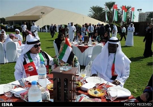 رقص عربی مارادونا در امارات !