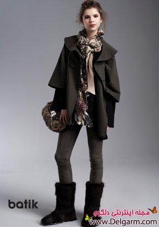 پالتو زمستانی و لباس پاییزی