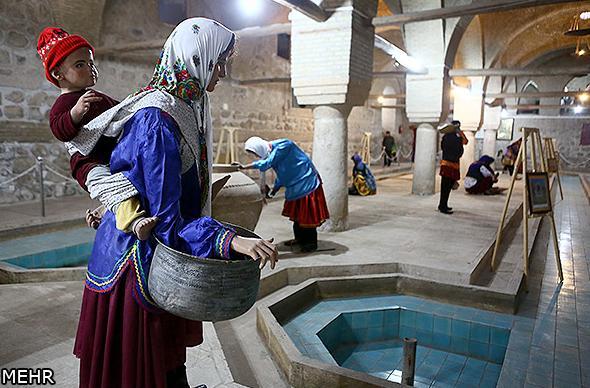تصاویر دیدنی از موزه رختشویخانه زنجان