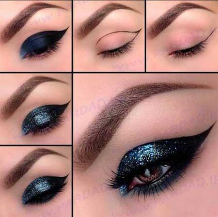 آموزش خودآرایی - آرایش چشمها