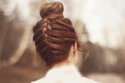 مدل موی گوجه ای زیبای دخترانه (1)