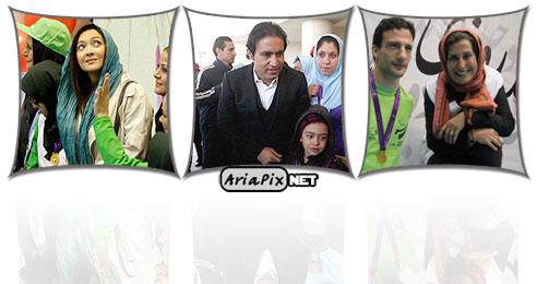 عکسهای مراسم روز پارالمپیک با حضور نیکی کریمی و فاطمه معتمد آریا