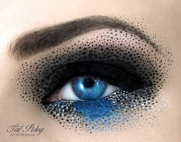 عجیب ترین تصاویر آرایش چشم