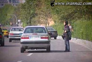 این خیابان پاتوق زنان بی شرم شده است + تصویر