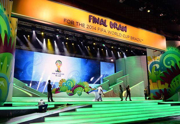 نتیجه قرعه کشی گروه بندی جامجهانی ۲۰۱۴ برزیل