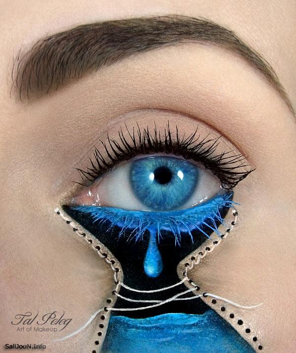 عکسهای آرایش چشمها از نوع عجیب و دیدنی