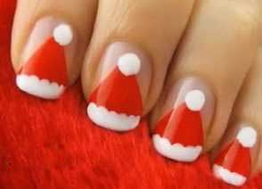 مدل طراحی ناخن مخصوص شب یلدا و کریسمس