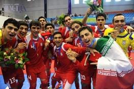 فوتسال ایران در رده ششم رنکینگ جهانی