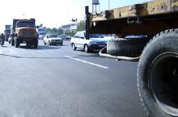 محدودیت ترافیکی برای خودروهای سنگین