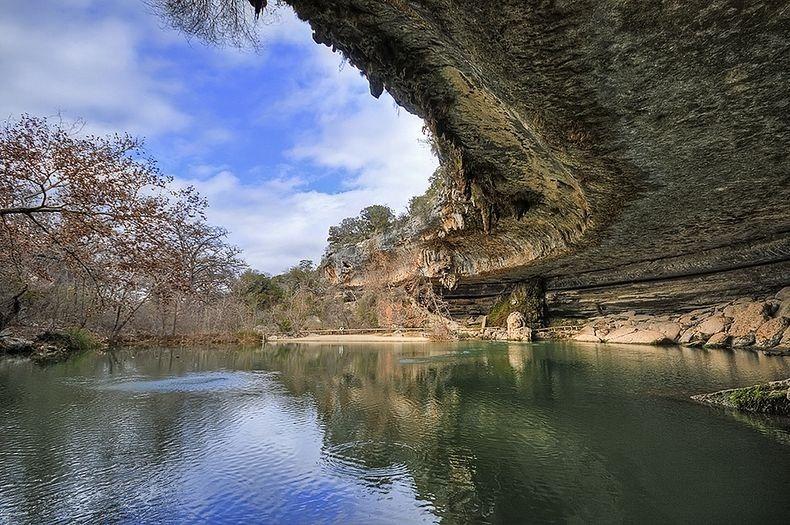 زیباترین استخر دنیا در ایالت تگزاس آمریکا + تصاویر