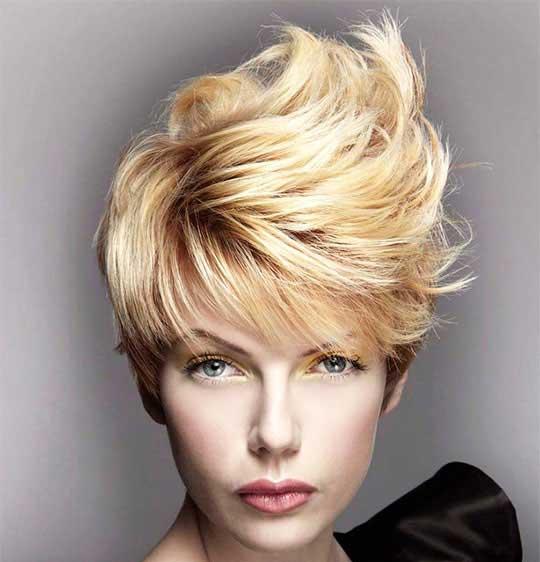 مدل موهای کوتاه برای کلاه های زمستانی
