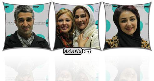 عکسهای حضور بازیگران در بنیاد خیریه برکت