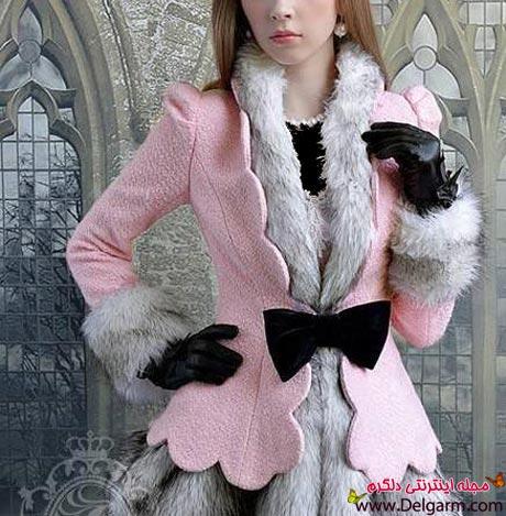 مدل پالتو جدید دخترانه شیک