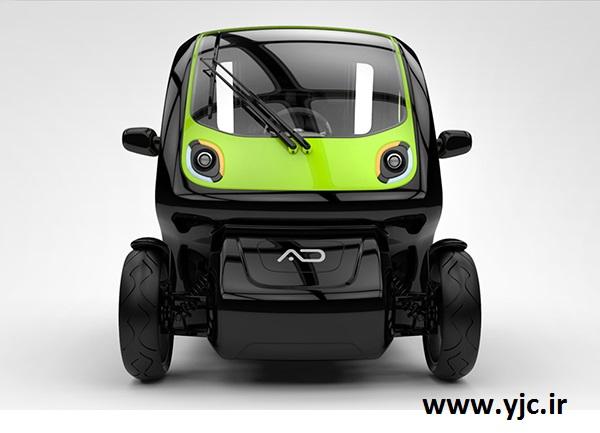 خودرویی الکتریکی مخصوص معلولین +عکس