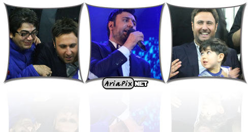 جشن تولد محمد علیزاده در کنسرتش