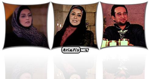عکس های الهام چرخنده, نیلوفر پارسا و علی تقوا زاده در برنامه خوشا شیراز