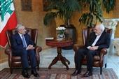 دیدار ظریف با رئیس جمهور لبنان