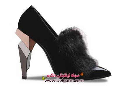 جدید ترین مدل ها از کفش زنانه برند فندی fendi