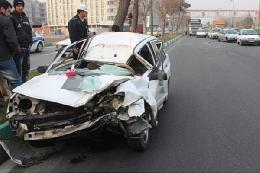 راننده این خودرو زنده ماند!+تصویر