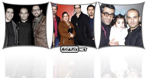 عکسهای کنسرت گروه دارکوب با حضور برخی بازیگران و هنرمندان