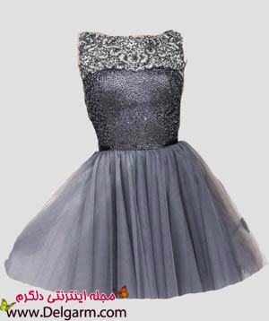 مدل لباس مجلسی دخترانه کوتاه جدید
