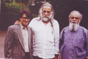 اساتید هوشنگ ابتهاج، محمدرضا لطفی و محمدرضا شجریان