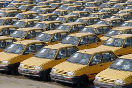 تاکسی های جدید منظر نتیجه قطعی