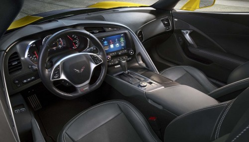 Corvette Stingray Z06 Interior