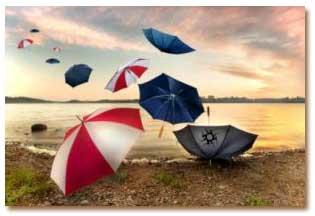 آموزش تمیز کردن چتر