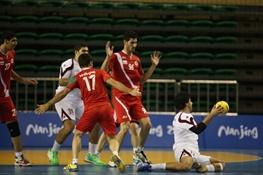 هندبال ایران به فینال آسیا نرسید