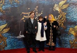 عکس جالب و دیدنی بهاره رهنما در کنار همسر و دخترش