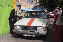 خداحافظی تاکسی پیکان از همدان