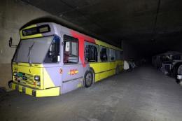 قبرستان اتوبوس های بلااستفاده+تصاویر