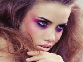 گالری تصاویر ایده هایی برای آرایش بنفش