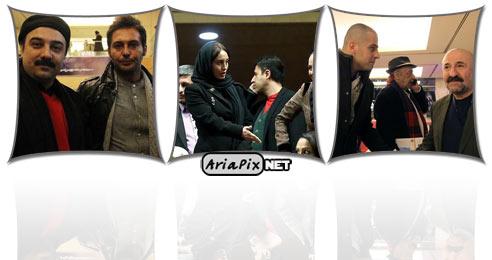عکس های بازیگران و عوامل فیلم معراجی ها در جشنواره فیلم فجر