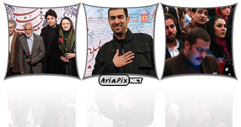 عکس های مراسم افتتاحیه جشنواره فیلم فجر ۹۵