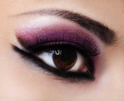 مدل آرایش چشم رنگ سال ۹۳