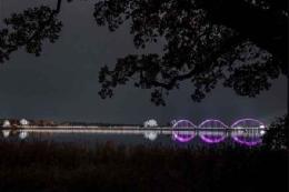 طولانیترین پل عابر پیاده در اروپا+تصاویر