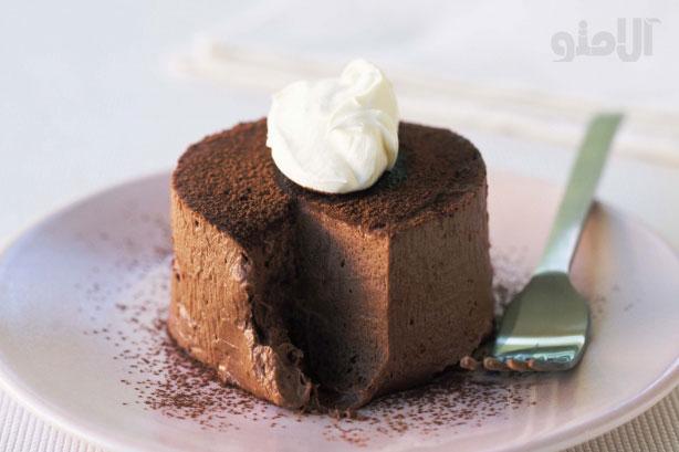 طرز تهیه دسر شکلات ترافلی