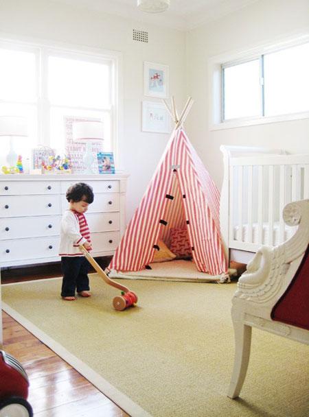 چادر بازی اتاق کودک و نوجوان