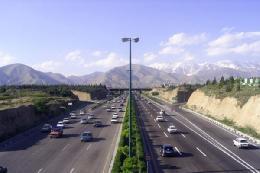 اعمال محدودیت ترافیکی درجاده رشت