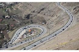 ترافیک نیمه سنگین در هراز وچالوس