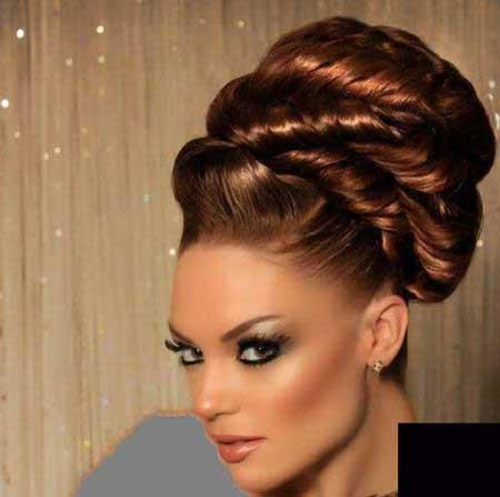 مدل موی عروس, آرایش موی عروس, مدل مو عروس