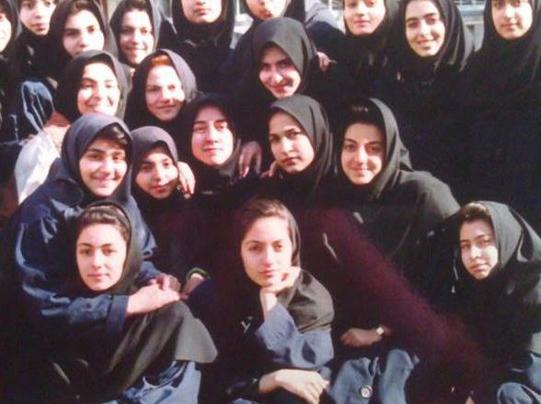 «مهناز افشار» در دوران دبیرستان /عکسی جالب و دیدنی