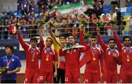 برنامه کامل مسابقات ایران در جام ملتهای فوتسال آسیا