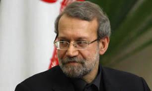 لاریجانی با آیات عظام صافیگلپایگانی و مکارم شیرازی دیدار کرد