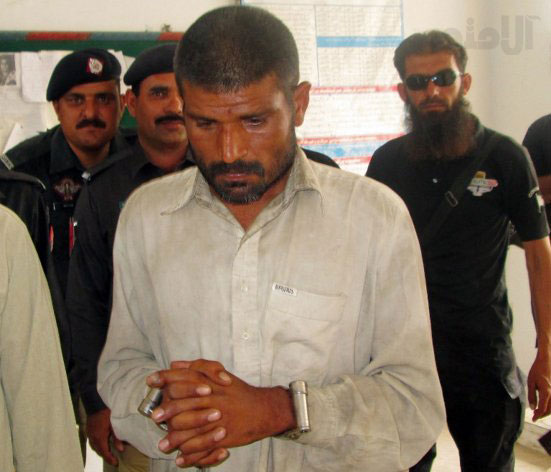 مرد آدمخوار پاکستانی دستگیر شد/عکس