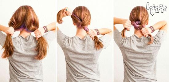 سه روش جالب برای زیباتر کردن موهای دم اسبی