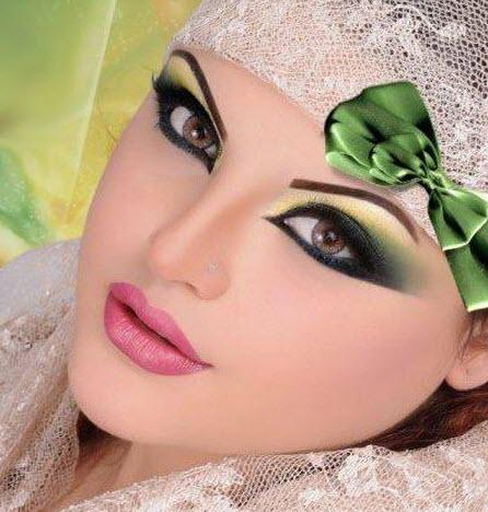 مدل آرایش خلیجی عروس