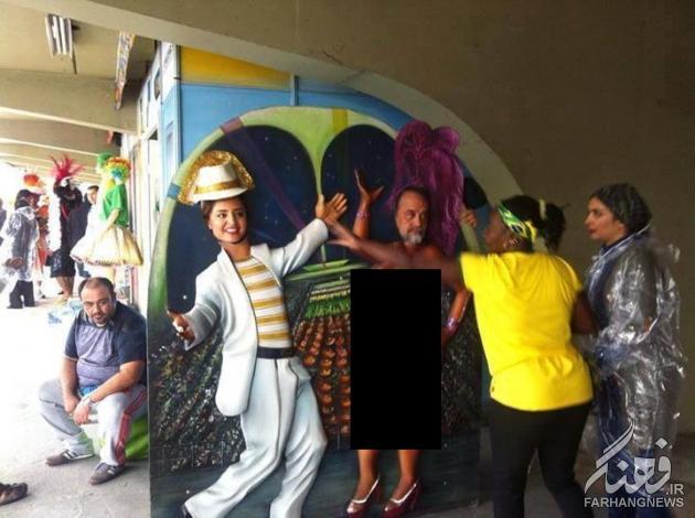 اخرین   اقدام فرهنگی  هنرمندان   در  برزیل ! +عکس